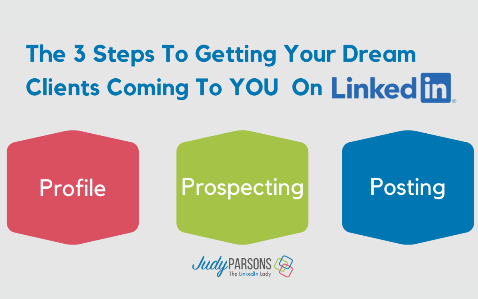 How To Get Your Dream Clients Coming To YOU On LinkedIn